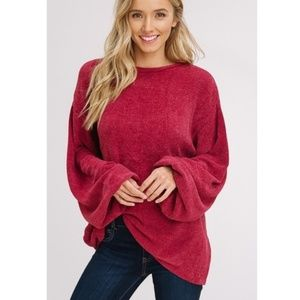WARM & STYLISH! Heavyweight Boucle Sweater